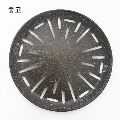 원형 코팅불판  (숯불용)
