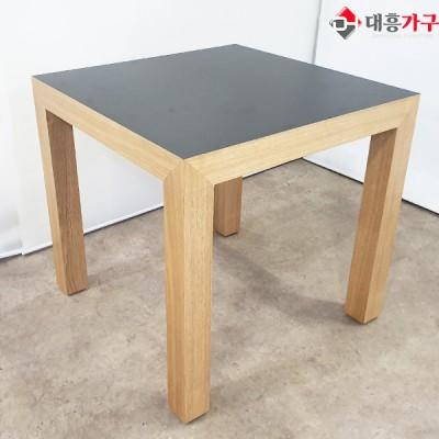 무늬목 호마이카 테이블 (멜라민 테이블)(사이즈 변경가능)